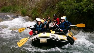 Rafting region of Valencia
